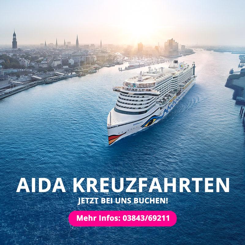 Buchen Sie Ihre Aida Reise bei uns